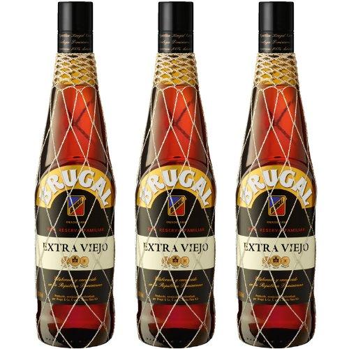 Brugal Ron Extra Viejo Rum Sparpaket 3 x 0,70 l