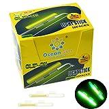 QualyQualy Glow Sticks de Pesca - Starlite de Pesca 100 Piezas Luces de Aviso en Cañas Pesca, Luminoso Luz Stick Pare Cañas Pesca, Glow Sticks Pare Cañas Pesca (100 Piezas L: 2.7-3.2mm)