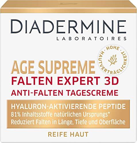 DIADERMINE Age Supreme Falten Expert 3D Tagespflege Anti-Falten Tagescreme mit...