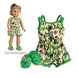 American Girl Lea's Rainforest Dreams Pajamas for 18' Dolls 2016