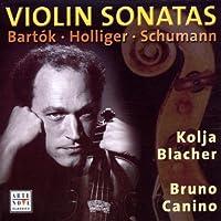 Bartok/Schuman: Violin Sonatas