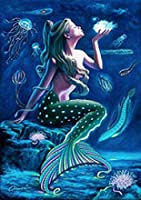 大人のジグソーパズル美しい人魚のジグソーパズル3000個インテリジェント減圧楽しい子供大人のジグソーパズルゲーム