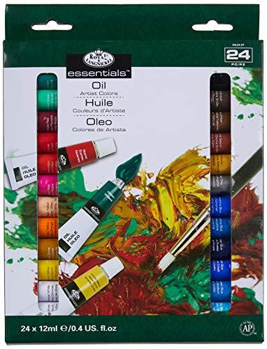 Royal & Langnickel - Confezione da 24 colori a olio da 12 ml