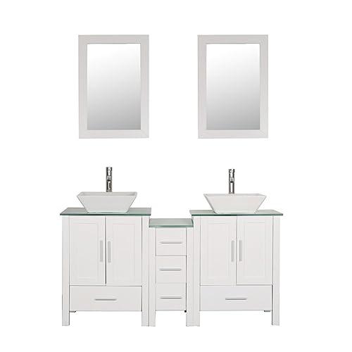 purchase cheap cf452 3de3b Small Double Sink Vanities: Amazon.com
