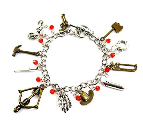 Le bracelet à breloques The Walking Dead