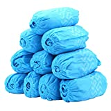 Shoe Covers - 100 Pack (50 Pairs) Disposable Boot Covers for Medical, Construction, Workplace, Indoor Carpet Floor Protection - THETIS Homes