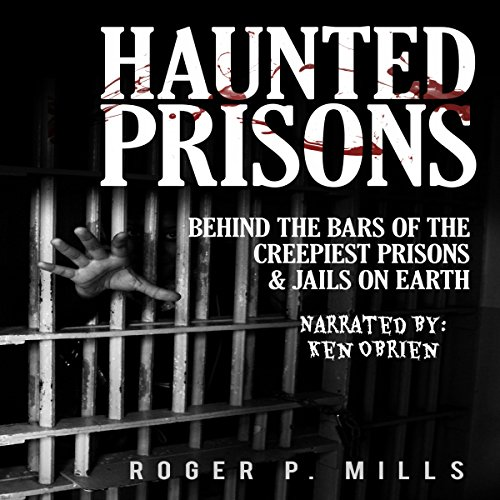 Haunted Prisons audiobook cover art