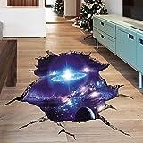 FafSgwq Cosmic Space Planet Broken Wall Sticker Kids Baby Nursery Bedroom Home Decor Starry Sky Stickers AF5864