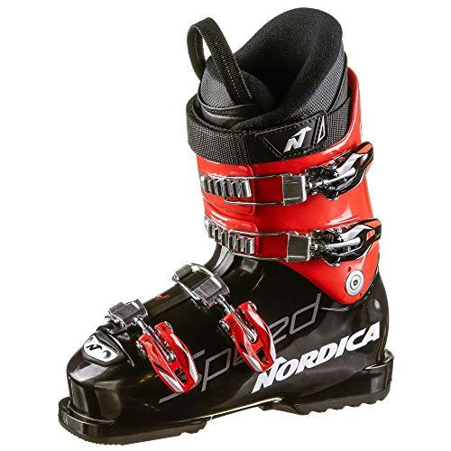 Nordica Chaussures de ski Speedmachine J 4 - Pour enfant - Noir - Taille 23,5