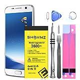 Batterie améliorée pour kit de Remplacement Galaxy S7, Batterie de Remplacement Haute capacité 3600mAh EB-BG930ABE pour Samsung Galaxy S7 G930F avec kit d'outils
