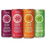 IZZE Sparkling Juice, 4 Flavor Variety Pack, 8.4 Fl Oz (24 Count)