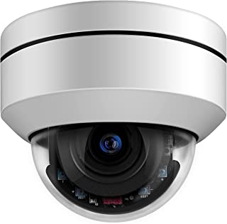 (Hikvision Compatible) 5MP Outdoor PoE PTZ IP Dome Camera,Pan Tilt 4X Optical Zoom 16x Digital Zoom Security Camera,2.8 m...