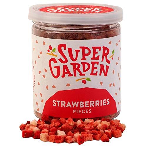 Supergarden fresa liofilizada en trocitos - Producto 100% puro y natural -...