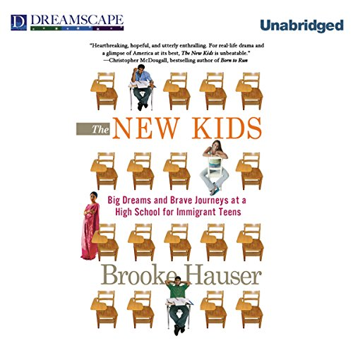 The New Kids audiobook cover art