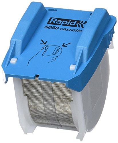 Rapid 20993501 Heftklammer-Kassette 5050, für elektrisches Heftgerät 5050e, 3x5000 Stück