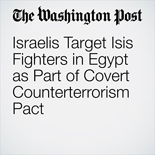 Israelis Target Isis Fighters in Egypt as Part of Covert Counterterrorism Pact copertina