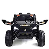 UTV Adjustable SEAT 4X4 Sport Edition 2 Seater 24VOLTS Buggy/UTV Style Kids Electric Ride On Car with RC - Power Wheel TV Screen Ride ON UTV Buggy 24v Kids Ride On Car with Remote Control RZR