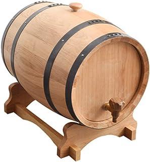 HWhome Fontaine à Boisson 3L/5L/10L/20L/30L/50L Tonneau De Vin, Vin De Bois Spécial Distributeur De Fûts, Vin Rouge Vieill...