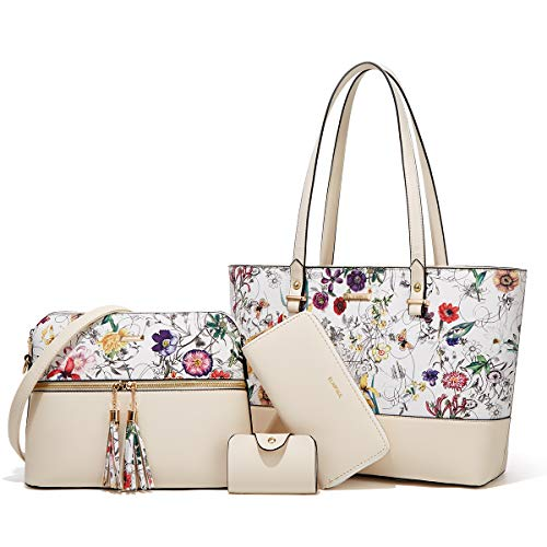 (37% OFF) 4 Piece Purse Set – With Several Varieties to Choose From $35.99 Deal