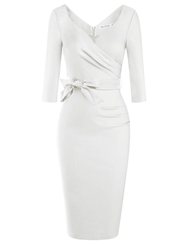White Dress - Women's Crochet Pom-Pom Sheer Lace Bell Sleeve Dress