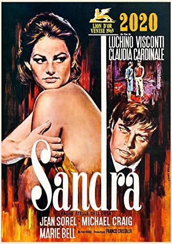 Calendrier mural 2020 [12 pages 20x30cm] Vintage Film Affiche Claudia Cardinale