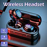 Alician V7 TWS Bluetooth 5.0 Headphones Earphone Wireless Headset with LED Digital Display