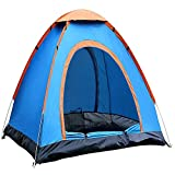 YFXOHAR Portable Picnic Camping Tent Portable Waterproof Tent Outdoor and Camping Tent (for 2 Person)