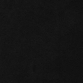 Mybecca Microsuede Black Suede Fabric Upholstery Drapery Furniture Cover & General Use Fabric 58/60  Width Fabric Sold Per Yard  Cut Separately by 1 Yard via Prime