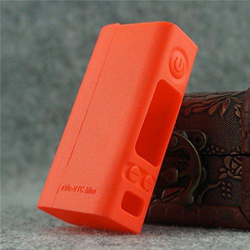 Silicone Case for eVic VTC MINI Sleeve Joyetech 60W Temp Control Box Mod Skin (red)