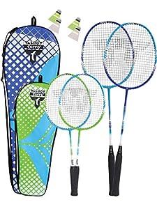 Talbot Torro Premium Badmintonschläger(2 Spieler, 4 Spieler, Familienoptionen)