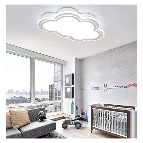 Luces De Techo Duraderas Modernas LED LED Luz De Nube Forma De Nube Ahorro De Energía Lámpara De Techo Luz De Techo para Niños S Dormitorio Sala De Estudio Luces De Techo Hyococ