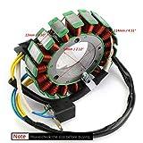 Artudatech Bobina magnética para motocicleta, 18 polos, 12 V, generador de bobina, generador de bobina, generador de encendido para CFMOTO CF500 500CC X5 ATV QUAD CF188