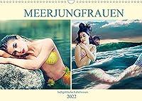 Meerjungfrauen - halbgoettliche Fabelwesen (Wandkalender 2022 DIN A3 quer): Meerjungfrauen fuer Fantasy Fans (Monatskalender, 14 Seiten )