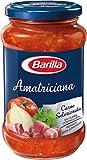 Barilla Sugo all'Amatriciana, con Cipolla e Pancetta Rosolata, Senza Glutine - 400 gr...