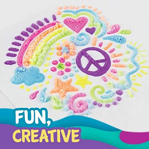 6 PCS Magic Popcorn Pen - Magic Colour DIY Bubble Popcorn Drawing Pens