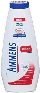 Ammens Original Medicated Powder, Talc Free Formula, 11 Ounce