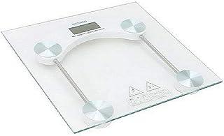 Maxstar Báscula de Baño Digital 2 Opciones de Peso Kg/Lbs Vidrio Templado