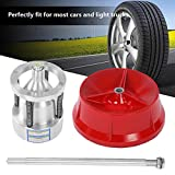 Equilibratrice, equilibratrice per pneumatici Officina garage portatile Strumento di equilibratura ruote per auto e camion