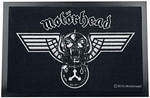 Motörhead - Felpudo (poliamida), poliamida, Negro , 40 x 60 x cm