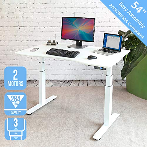 Home Office Desk For Dual Monitors