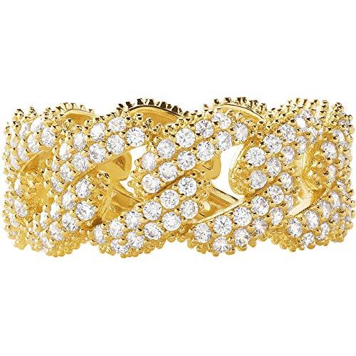Michael Kors - Anillo para mujer de joyas Premium, talla 15, Trendy cód. MKC1429AN710506