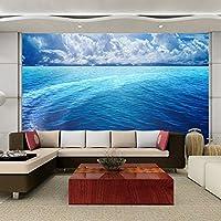 カスタム写真の壁紙3D立体HD海と空の風景壁のための大きな壁画のリビングルームの寝室の壁紙-200x140cm
