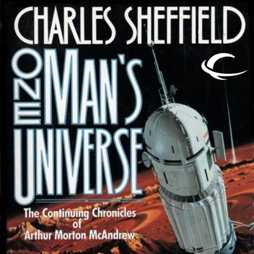 One Man's Universe audiobook cover art