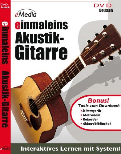 einmaleins Akustik Gitarren - Gitarrenschule in Deutsch [DVD-Video] eMedia