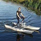 DIVTEK Water Bikes, Inflatable Kayak Bikeboat for Lake, Water Sports Touring Kayaks Sea Pedal Bicycle Boat for Sport Fun Fishing