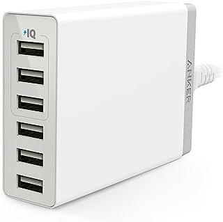 Anker PowerPort 6 Lite (30W 6ポート USBフルスピード充電器)【PSE技術基準適合/PowerIQ & VoltageBoost搭載】 iPhone/iPad/Xperia/Galaxy/Android各種他対応...