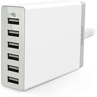 Anker PowerPort 6 Lite (30W 6ポート USB急速充電器)【PSE認証済/PowerIQ & VoltageBoost搭載】 iPhone/iPad/Xperia/Galaxy/Android各種他対応 (ホワイト)