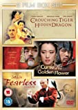 Curse of The Golden Flower / Fearless / Crouching Tiger, Hidden Dragon [3 DVDs] [UK Import] - Curse of the Golden Flower/Fearless