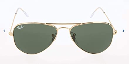 Ray-Ban Unisex RB3044 Aviator Metal 52mm