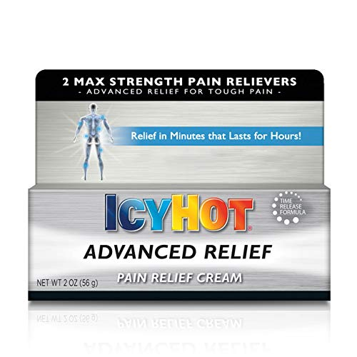 Icy Hot Advanced Relief Pain Relief Cream, 2 Ounces